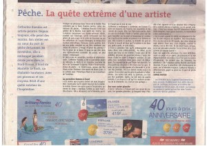 article telegramme