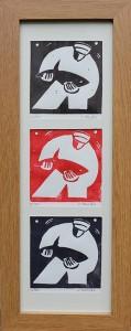 Linogravure 55x20 100€